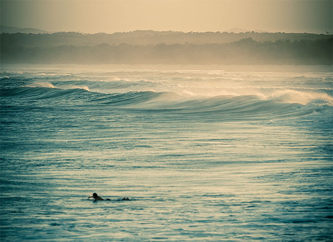 Great surfing to be had at Sawtell